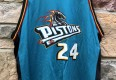 2000 Mateen Cleaves Detroit Pistons CHampion NBA jersey size 52 XXL vintage