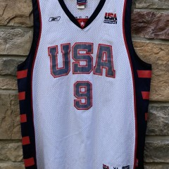 2004 LeBron James Olympic Jersey size XL reebok swingman