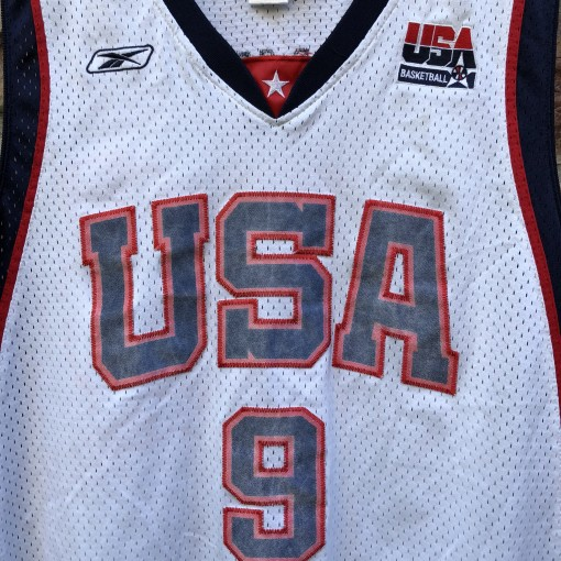 2004 LeBron James Olympic Jersey size XL reebok swingman