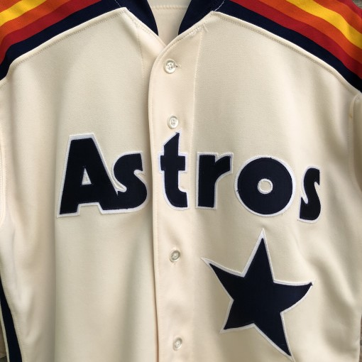 vintage 80's Houston Astros Rawlings Authentic diamond collection MLB jersey size 44
