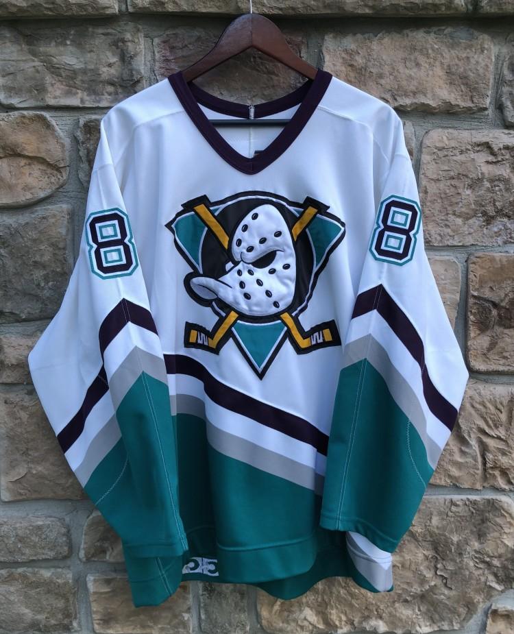 vintage 90 s Teemu Selanne Anaheim Mighty Ducks Authentic CCM NHL jersey  size 48 XL 6551456a2de