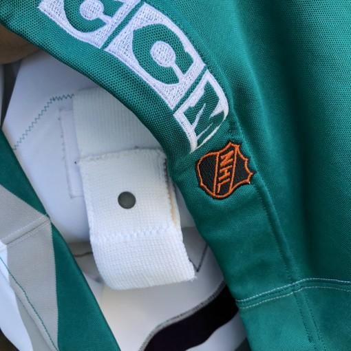 vintage 90's Teemu Selanne Anaheim Mighty Ducks Authentic CCM NHL jersey size 48 XL