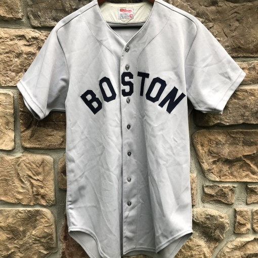 80's Carl Yastrzemski Boston Red Sox vintage authentic Wilson MLB jersey size 42