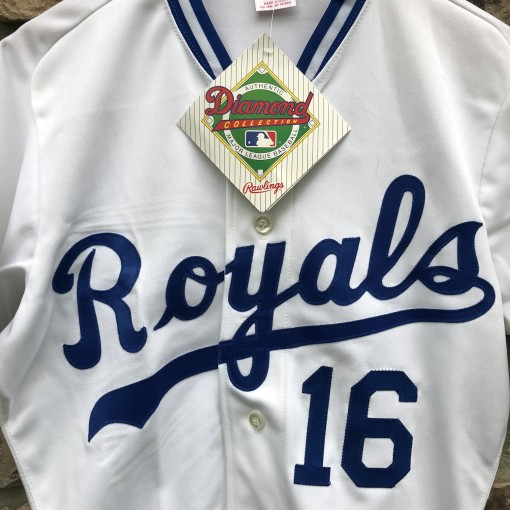 Vintage 1989 Bo Jackson Kansas City Royals authentic rawlings diamond collection vintage MLB jersey size 38