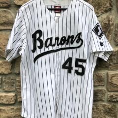 vintage 90's Birmingham Barons Michael Jordan authentic Wilson minor league baseball jersey size 46