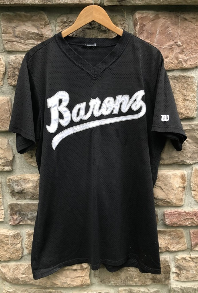 261337cb756f vintage 90 s Birmingham Barons Michael Jordan authentic Wilson minor league  baseball jersey batting practice size large
