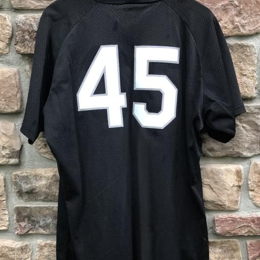 vintage 90's Birmingham Barons Michael Jordan authentic Wilson minor league baseball jersey batting practice size large
