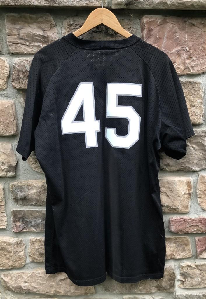 buy online 43459 38459 1994 Birmingham Barons Michael Jordan Authentic Wilson BP Jersey Size 44