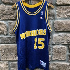 vintage 90's Latrell Sprewell Golden State Warriors Champion NBA Jersey Size 40