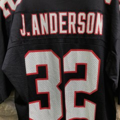 vintage 90's Jamal Anderson Atlanta Falcons Nike NFL Jersey size large
