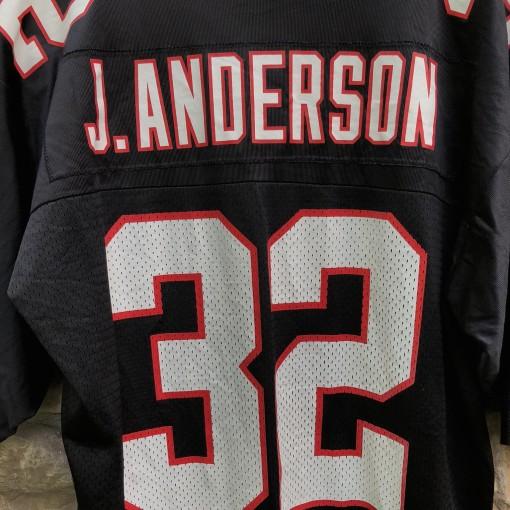 vintage 90's Jamal Anderson Atlanta Falcons Nike NFL Jersey size large