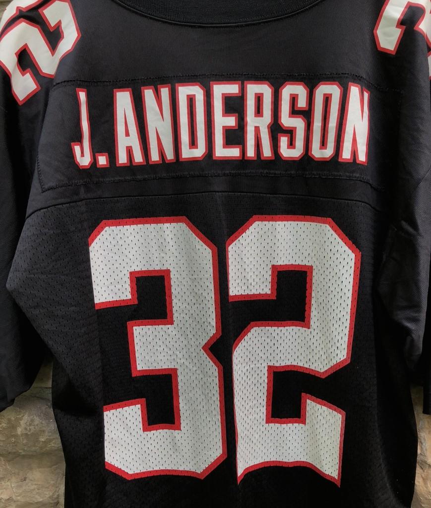 1998 Jamal Anderson Atlanta Falcons Nike NFL Jersey Size Large