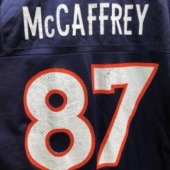 vintage 90's Ed McCaffrey Denver Broncos Logo Athletic NFL jerseys size medium