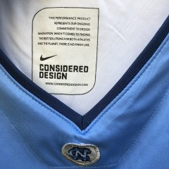 vintage 00's Tyler Handsboro University of North Carolina Tarheels Authentic Nike NCAA jersey size small