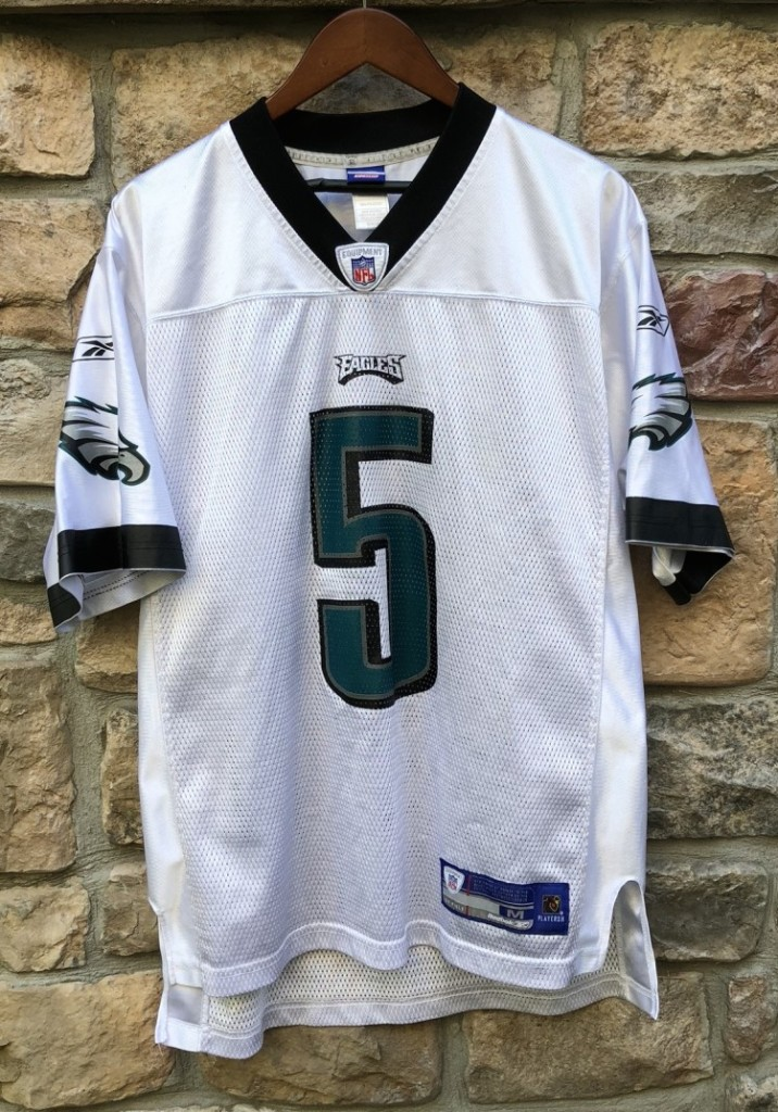 official photos 7f5db 9a2df 2004 Donovan McNabb Philadelphia Eagles Reebok Road NFL Jersey Size Medium