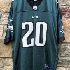 vintage 2004 Brian Dawkins Philadelphia Eagles Reebok NFL Jersey size XL