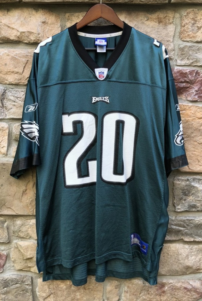 e6373cab 2004 Brian Dawkins Philadelphia Eagles Reebok NFL Jersey Size XL