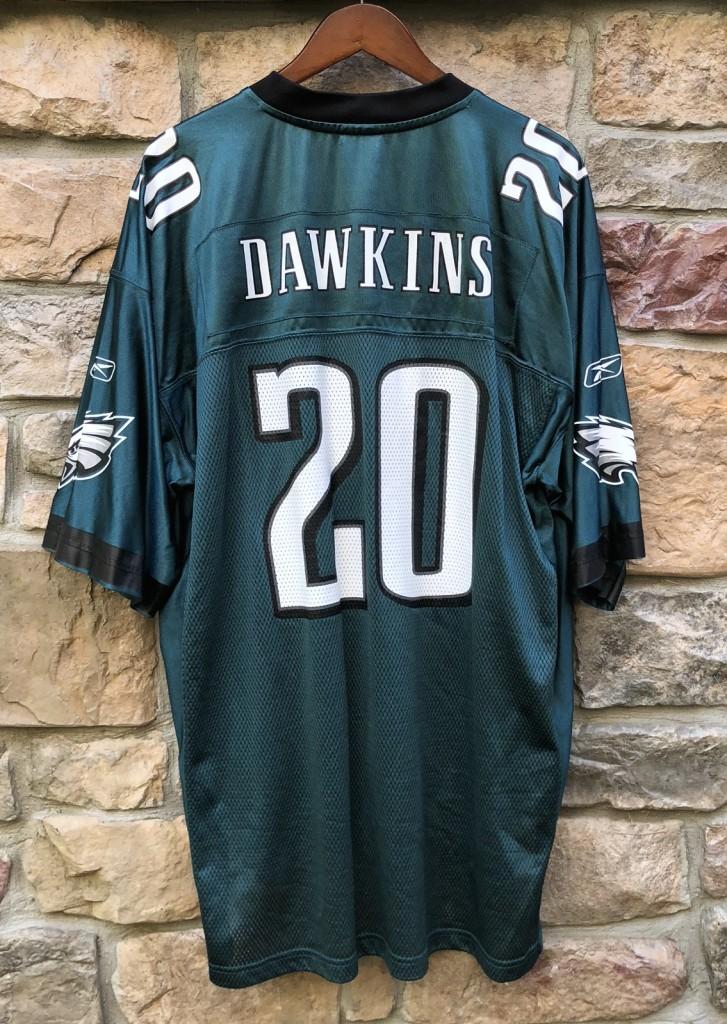 vintage 2004 Brian Dawkins Philadelphia Eagles Reebok NFL Jersey size XL c7b45e2b5bfe