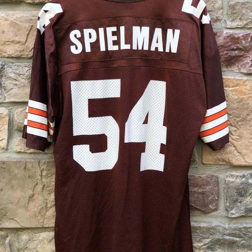 Vintage 90's Chris Spielman Cleveland Browns Champion NFL jersey size 44 large