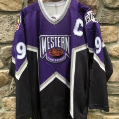 Vintage 1996 Western Conference Wayne Gretzky LA Kings All Star Jersey CCM Size XL