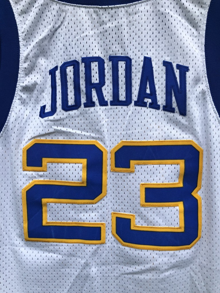 new style fd499 4247f 1980 Michael Jordan Laney High School Nike Swingman Jersey Size Medium