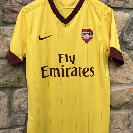 00 s Arsenal Gunners Nike Soccer Jersey size medium vintage 52880c3be
