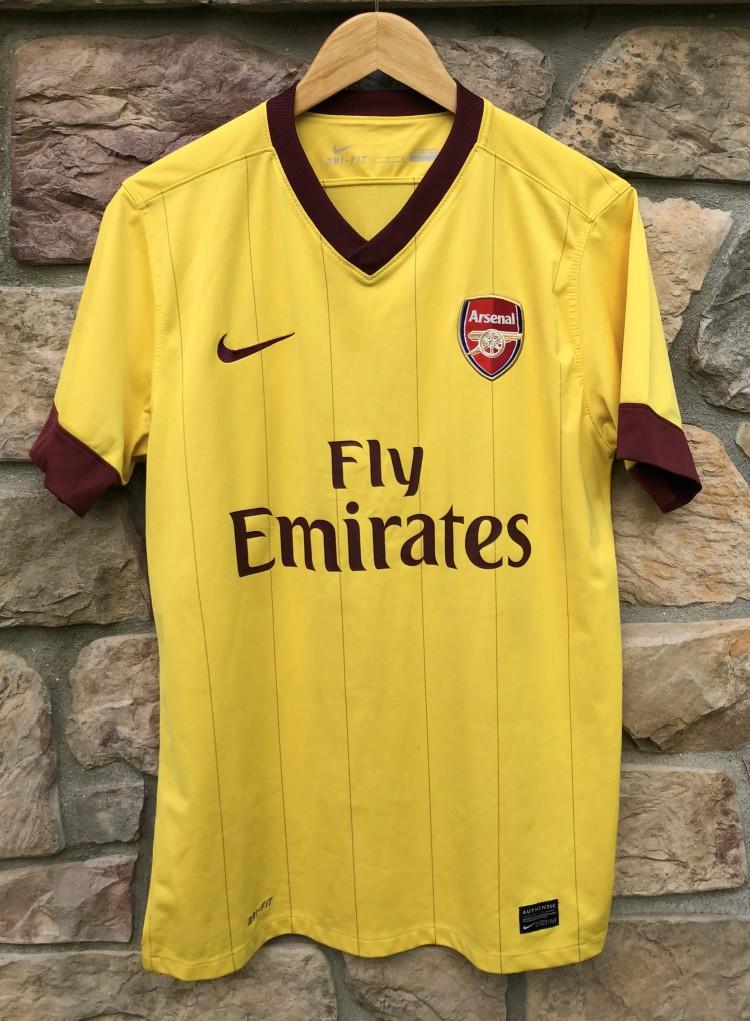 00 s Arsenal Gunners Nike Soccer Jersey size medium vintage c070d50b5