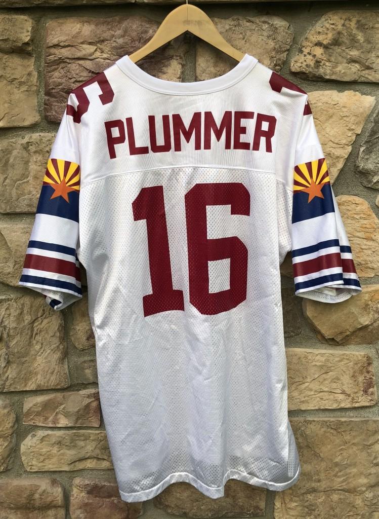b2de159c03d vintage 90's Jake Plummer Arizona Cardinals Logo athletic NFL jersey size XL