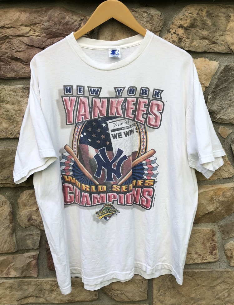 New York Yankees 1996 World Series Champions Starter MLB t shirt size large f443bf829
