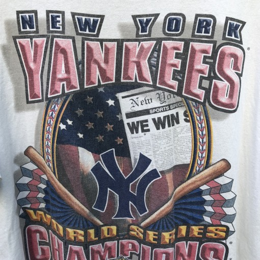 New York Yankees 1996 World Series Champions Starter MLB t shirt size large