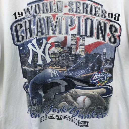 New York Yankees 1998 World Series Champions Starter MLB t shirt size large