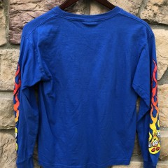 vintage 90's World Industries skate t shirt youth size large long sleeve
