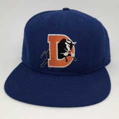 90's Durham Bulls Minor League Baseball Snapback hat