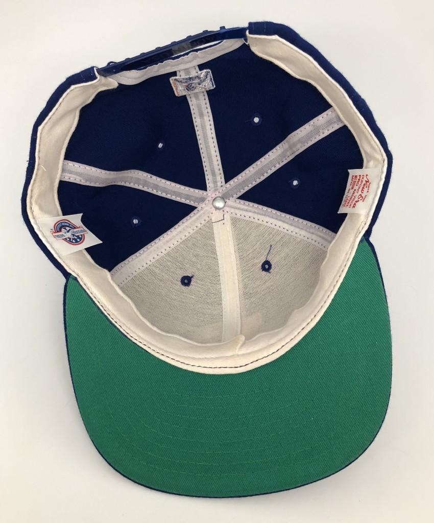 Durham Bulls Hat: 90's Durham Bulls Minor League New Era Snapback Hat