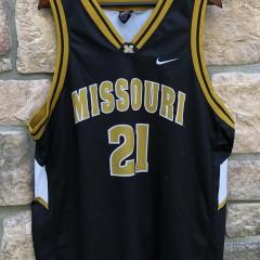 vintage 2000 Kareem Rush Missouri Tigers Nike NCAA jersey size XL