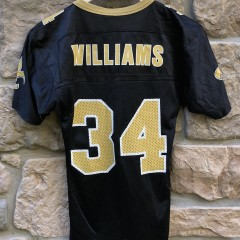 Vintage 90's Ricky Williams New Orleans Saints Champion NFL jersey youth size small