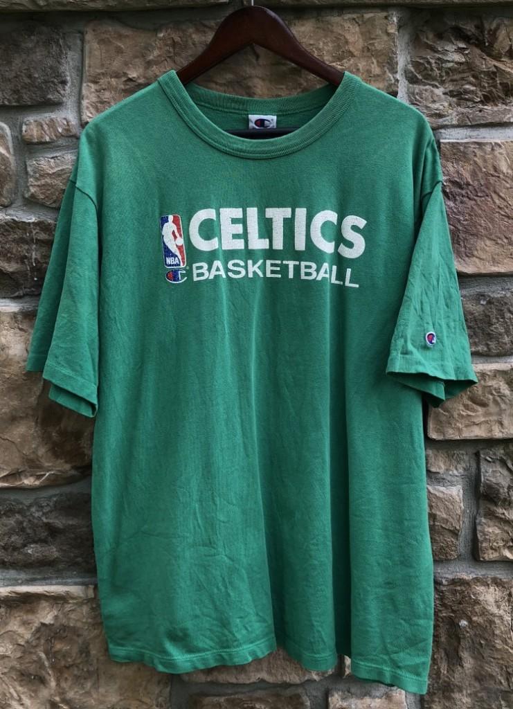 e6b0bd0e4916 90 s Boston Celtics vintage champion NBA Shirt