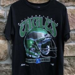vintage 90's 1992 Philadelphia Eagles Salem sportswear helmet t shirt size medium