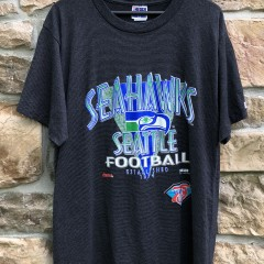 1994 Seattle Seahawks Trench NFL T shirt