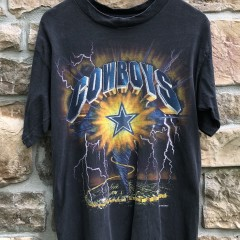 1993 Dallas Cowboys vintage lightning NFL T shirt