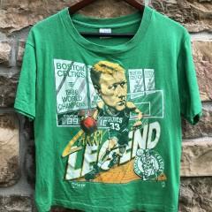 vintage 80's Larry bird salem sportswear boston celtics t shirt size small
