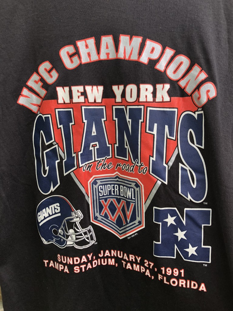 vintage 1991 New york giants NFC Champions vintage nfl t shirt size large 38f18b1cc
