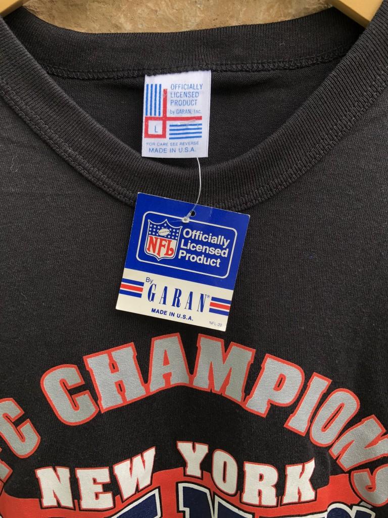 3d15e1f5cf2 vintage 1991 New york giants NFC Champions vintage nfl t shirt size large