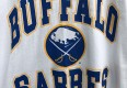 vintage 1990 Buffalo Sabres NHL T shirt trench size XL