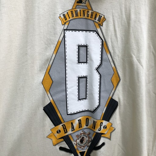 vintage 90's Birmingham Barons Negro Leagues Dedstock starter t shirt size large
