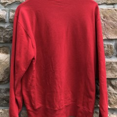 vintage 90's Champion crewneck sweatshirt red size large