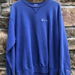 vintage 90's Champion Crewneck sweatshirt pastel blue size XL