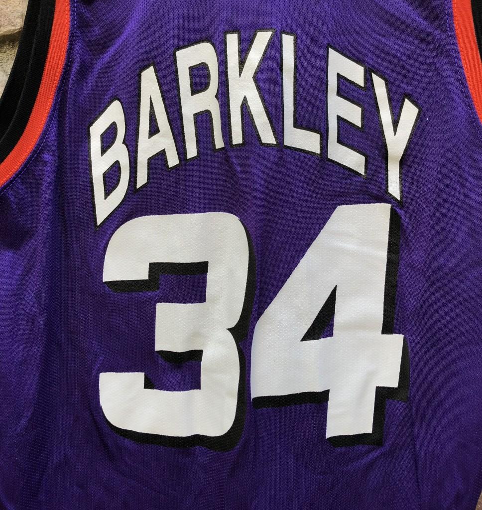 d34e8c253df vintage 90 s Charles Barkley Phoenix Suns Champion NBA jersey size 44 large