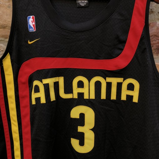 1974 Shareef Abdur Rahim Atlanta Hawks Nike Rewind Swingman NBA jersey size XXL