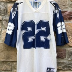 vintage 90's Emmitt Smith Dallas Cowboys Starter Alternate NFL Jersey size Large